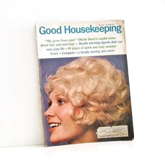 Vintage Magazine 1970's Good Housekeeping Womens Mag