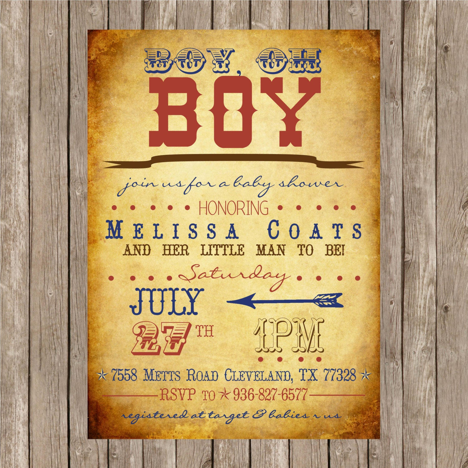 Baby Shower Cowboy Invitations with adorable invitations ideas
