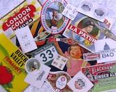 Beautiful Vintage Paper Pack Kit....20 Pieces..Advertisements