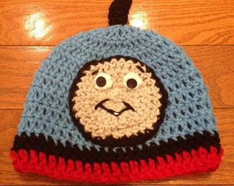 Thomas the Train Thomas The Tank Beanie Skullcap Hat all sizes newborn through adult