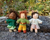 Tidbit Faeries, Kit for a Hapenny, make dolls, pins or ornaments