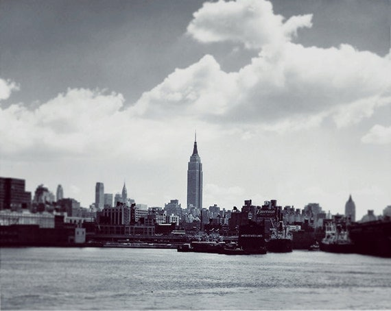 Focus - New York City - Vintage Restored Photograph, Photography Art Print by Leigh Viner