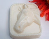 Horse Lover Soap, Horse Lovers Gift, Choose Your Scent and Color