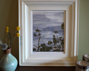 Botanical print - Clover - Ready to frame - 8x10 or 16x20