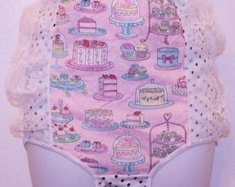 pastel CAKE high waist underwear