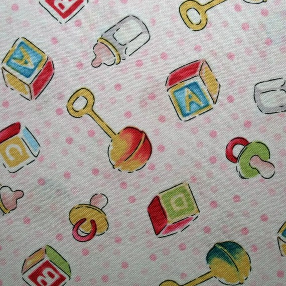 Sale last continuous 3 yards baby nursery toys cotton for Nursery fabric sale