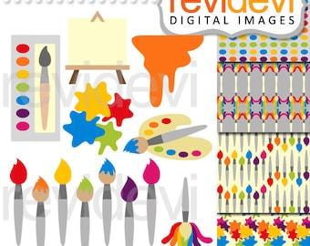 Painting Supplies Clip art 07509