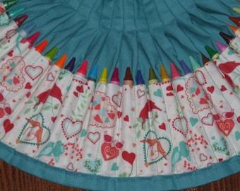 Smitten Crayon apron