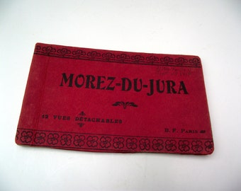 Antique French Postcard Collection Morez-Du-Jura France French