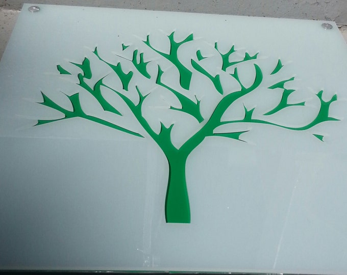 Tree Acrylic and Recycled Aluminum