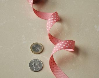 "Clearance/5Ys+ 5/8"" 16mm Polka Dots/ Swiss Dots Grosgrain Ribbon / hairbow ribbon"