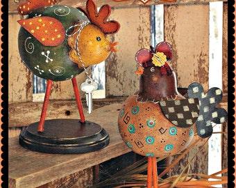 Apple Tree Cottage Original Design E Pattern  -  Chicken House Banties
