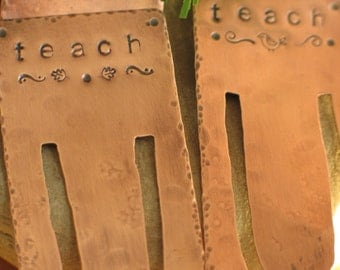 Copper Bookmarks - Custom Made
