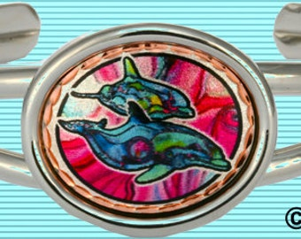 Dolphins Dance Bracelet