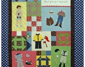 When I Grow Up Quilt Pattern Book