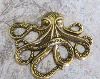 NEW Brass Octopus Finding 194B