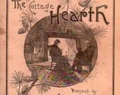 ANTIQUE MAGAZINE, The Cottage Hearth, November 1890, collected by junqueTrunque