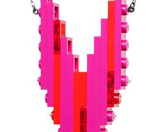 cherry sunrise hero necklace