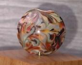 Handmade Glass Lampwork Bead Focal - Autumn Tapestry
