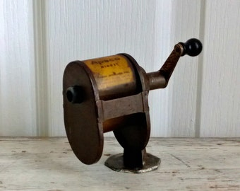 vintage apsco midget pencil sharpener 1950s
