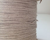 20 yards of  soft jute and cotton mix string.  brown paper packaging / soft twine / divine twine / FREE SHIPPING