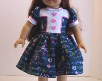 1940's Dress for American Girl Dolls