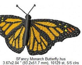 SFancy Monarch Butterfly 4 x 4