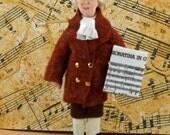 Joseph Haydn Composer Doll Art Miniature