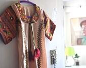 Tribal Tunic Dress - Bohemian