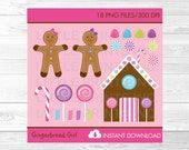 Girl Gingerbread Candy Ca...