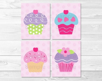 Cupcake Baby Cakes Nursery Wall Art PRINTABLE Instant Download