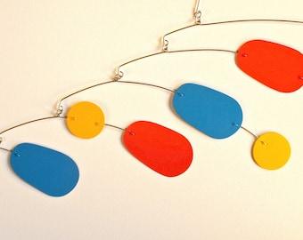 the juggler - hanging art mobile