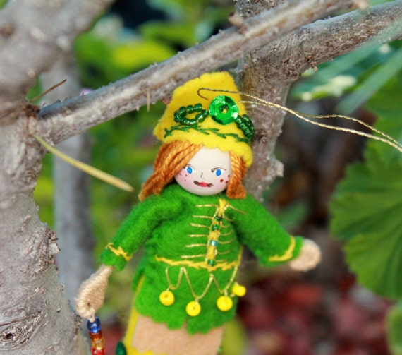 St Patrick's Girl, Art Dolls and Miniatures