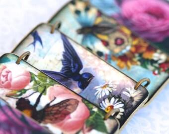 Bee/Bird/Butterfly Bracelet - Bee Bracelet - Butterfly Bracelet - Butterfly Bracelet - Pink Jewelry - Woodland - Shrink Plastic - Popular