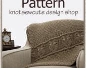 Night Owl Decorative Throw - Crochet Pattern (PDF) - INSTANT DOWNLOAD