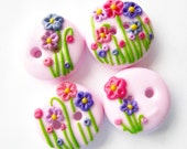 Flower Garden (set of 4)