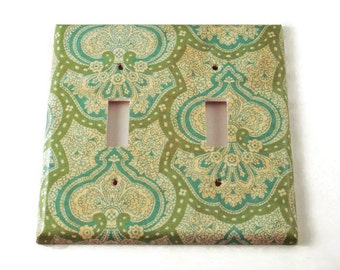 Double  Light Switch Plate Wall Decor  Light Switchplate in  London   (189D)