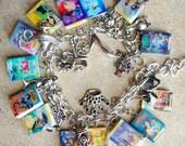 The ULTIMATE Princess Books Fringe Charm Bracelet