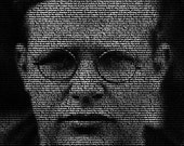 Dietrich Bonhoeffer - 11x14 Typographical Portrait Fine Art Print