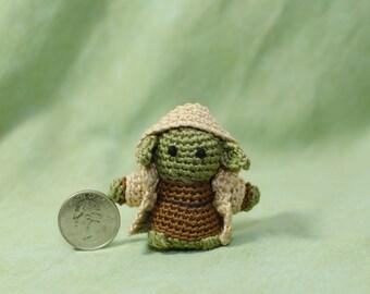 Yoda Mini Amigurumi