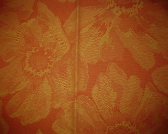 Coral Flowers Duralee Outdoor Upholstery Designer Fabric Sample 14246