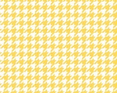 Houndstooth in Yellow (C970-50) - cut options available