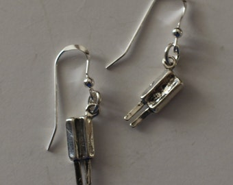 Sterling Silver 3D POPSICLE Earrings - Sweet, Food