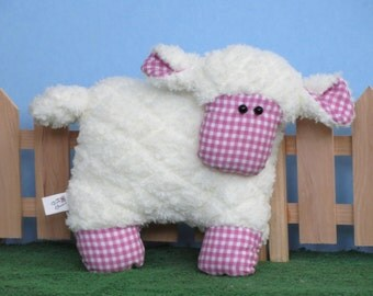 Super soft handmade plush sheep
