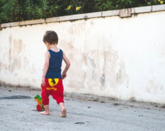 shortees aladdin pants pattern all sizes 0-24 months PDF INSTANT DOWNLOAD