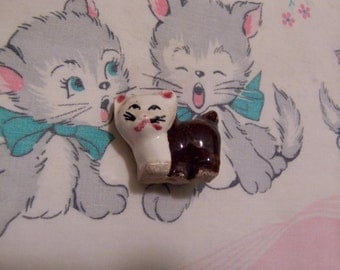 itty bitty sweet face kitty figurine