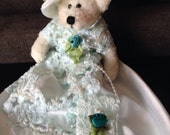 Teddy Bear with gown and hat