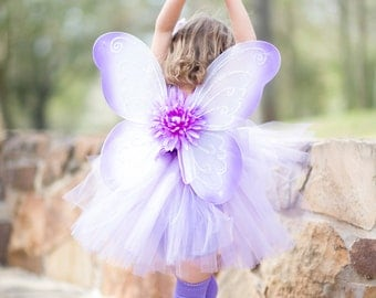 Lavender Couture Tutu Dress, Perfect for Birthday, Photos or Wedding size 12m-3T