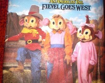 Fievel Goes West Costume Pattern Size 3-8