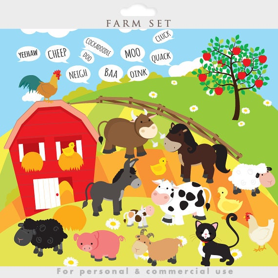 Farm Animals Clipart Clip Art Animal